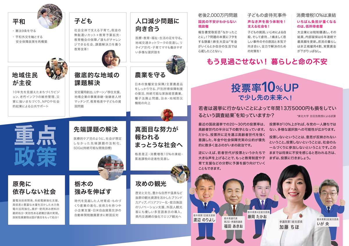 加藤千穂 政策002